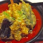 かたつむり - 魚天丼(1,260円)