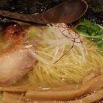 60455012 - 細い麺とたっぷりメンマ