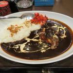 越後つけ麺維新 - ブラックチキンカレー