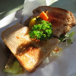レストラン あすか - クラブハウスサンドイッチ