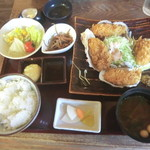 こくりこ - 浜名湖カキフライ定食