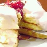 茶香 - 相変わらずほわほわ♡苺のクリームもとっても美味しい♡