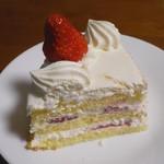 パティスリーアプラノス - クリスマスケーキ(断面)