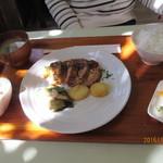 レストラン でん園 - ミートローフランチ