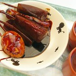 すずや - 料理写真:味噌おでん(玉子・ちくわ1本/こんにゃく3本)500円