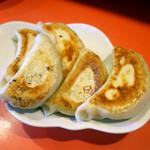 鴻園 - 焼餃子 ¥480