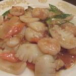 中華料理 雄 - 海鮮炒め