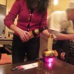 中華料理 雄 - 出ました紹興酒温め器