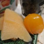 零 - 数の子、金柑蜜煮アップ