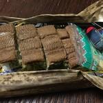 誉寿司 - 穴子の棒寿司