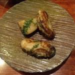 和創作 太 - 牡蠣と海老芋のムニエル