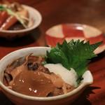 手打ち蕎麦切り 海望 - 2016年12月 キノコおろしポン酢