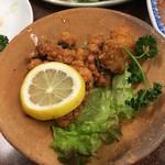 三ちゃん食堂 - 蛸のから揚げ