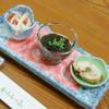 とんかつ わらしっ子 - 料理写真:飲み放題付き宴会コース(4,320円)の『先付』2016年12月