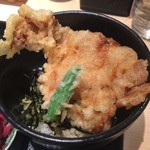武膳 - ミニ豚天丼