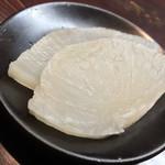 とり吉 - とり吉(大阪府豊中市庄内幸町)鴨ぞうすいの漬物