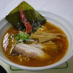 麺屋 やしち - 海老味噌らーめん~☆