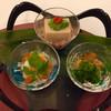 喜代美山荘 花樹海 - 料理写真:季節3種盛り