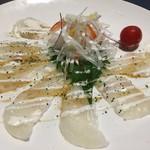 60466334 - 白身魚のカルパッチョ