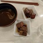 ホテルマウントレースイ - カレー蕎麦とステーキ
