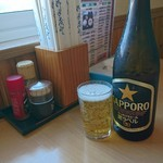 名取屋 - この瓶ビール570円(゚д゚)!