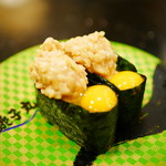 すし銚子丸 - うずら納豆¥130