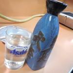 大衆焼肉本店 - 日本酒(常温2合)