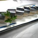 まぐろ三昧那智 - 紀州名産のさんま寿司。テイクアウトも出来ます(^^♪