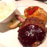 銀座イタリアン Fabi's  - お肉MIXスタミナプレート