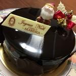 60470278 - チョコムースのクリスマスケーキ 3500円(税別)