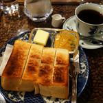 珈琲 庵 - トースト 自家製ブレンド
