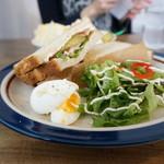 ゴマシオキッチン - 料理写真:くちぶえサンドイッチ