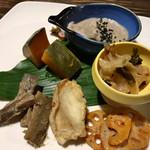 にこちゃん堂 - ★★★☆ お昼ご飯 季節の野菜おかず色々
