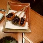 出来たて豆腐と和食 珍竹林 - こちらも田楽!