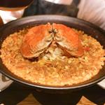 60473011 - 香箱蟹とイカ帆立のパエリア