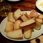 リストランテ ワイン屋 - パン
