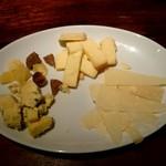 リストランテ ワイン屋 - チーズ盛り合わせ