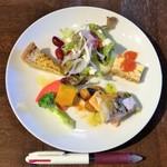 トラットリア ピアット - ランチの前菜。