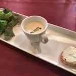 レッドペッパー - ★★★ ランチの前菜