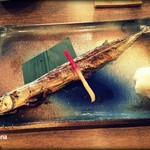 串焼炉端 三代目 巌流 - 秋刀魚塩焼き 500円