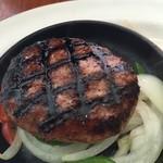 60474955 - 肉肉しいハンバーグ