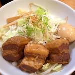 拉ノ刻 - 2012.9.29 豚の角煮まぜそば