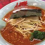 ラーメン山岡家 - 料理写真:辛味噌ネギラーメン 840円
