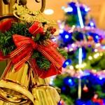 パティオ - クリスマスシーズンにはクリスマスイルミネーションの展示をし、クリスマスディナーも承ります