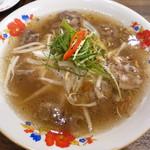 ベトナム料理クアンコム11 - 牛肉3種盛りフォー