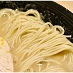 60479639 - 小麦感の強い低加水麺。