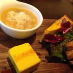 トラットリア ピノ - ランチ前菜