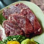 ホルモン焼肉 七福 - ☆特上塩ハラミは肉厚ですね(^_-)-☆☆