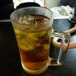 ホルモン焼肉 七福 - ☆烏龍茶はゴクゴク飲んじゃいます(^o^)/☆