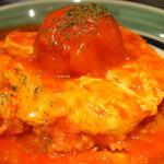 6048806 - 完熟トマトのおむらいす